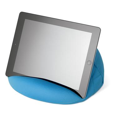 Tablet-Kissen mit ø 27cm in blau