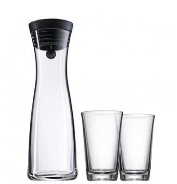 3tlg. Wasserkaraffen Set