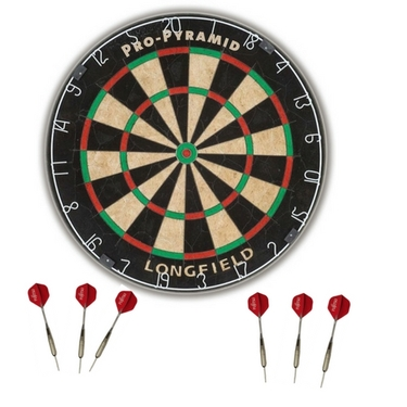 Robustes Dart Board Pro Pyramid